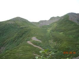 仙丈ケ岳(3033m)